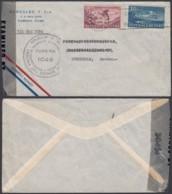 Cuba 1945 - Lettre Par Avion De L'Habana Vers Stockholm-Suède Via New York  ............................... (VG) DC-7729 - Usados