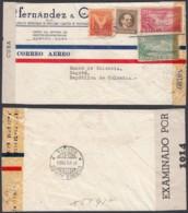 Cuba 1944 - Lettre Par Avion Vers Bogotá-Colombie De L' Habana ............................... (VG) DC-7732 - Usados