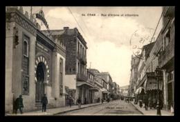CINEMA - ORAN (ALGERIE) - LE CINEMATOGRAPHE GAUMONT RUE D'ARZEW ET ALHAMBRA - Kino & Film