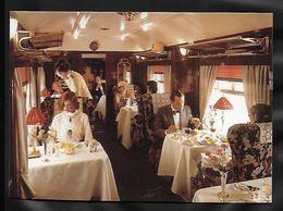 CPM TRANSPORTS - Dans Les Wagons Du Venise-Simplon Orient Express - Trains