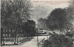 09 Lavelanet Promenade De L'Église,au Fond Pic Saint-Barthélémy - Lavelanet