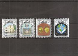 Barbades - Franc-Maçonnerie  ( 812/815 XXX -MNH) - Barbades (1966-...)