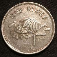 SEYCHELLES - 1 RUPEE 1992 - KM 50 - ( Roupie ) - Seychelles