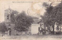 EGLISE ET CHATEAU D'AURIBAIL (dil470) - Andere Gemeenten