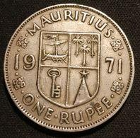 ILE MAURICE - MAURITIUS - 1 RUPEE 1971 - KM 35.1 - ( Roupie ) - Mauritius