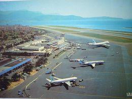 Avion / Airplane / AIR INTER / Airbus A300 / Seen At Nice Airport - 1946-....: Ere Moderne