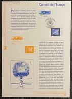 France - Document Philatélique - Premier Jour - FDC - Conseil De L'Europe - 2005 - 2000-2009