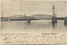 Boom   *  Environs 'd'Anvers - Le Pont De Boom Au Passage D'un Bateau  (Nels, 6) - Boom