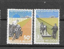 België 1965 Y&T Nr° 1340/41 (**) - Unused Stamps