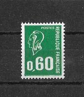 N° 1814a (sans Bande Phosphorescente) NEUF** - 1971-76 Marianne Of Béquet