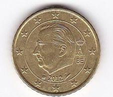 2012 Euro 0,50 - Belgien