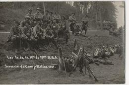 Les As De La 3ème Du 19ème BCA (Chasseurs Alpins) Souvenir Du Camp BITCHE 1921 - Regimente