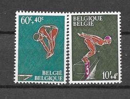 België 1966 Y&T Nr° 1372/73 (xx) - Unused Stamps