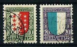 Suiza Nº 185-190 Usado - Usados