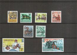 Tanganyika ( Service 1/8  XXX -MNH) - Kenya, Uganda & Tanganyika
