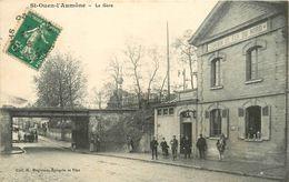 95 SAINT OUEN L'AUMÖNE - La Gare - Saint Ouen L'Aumone