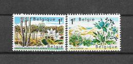 België 1967 Y&T Nr° 1408/09 (**) - Unused Stamps