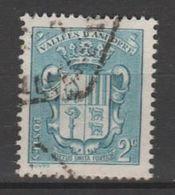 ANDORRA C.FRANCES Nº 48 SELLO USADO CON UN BONITO MATASELLOS (c.c) - Andorra Francese