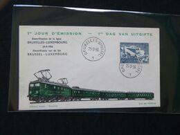BELG.1956 996 FDC - 1951-60