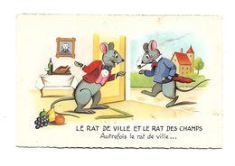 Fable De LAFONTAINE : Le RAt Des Villes Et Le RAT Des Champs .. - Contes, Fables & Légendes