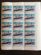 "1970..USSR.. VINTAGE SET OF  STAMPS ""LENINSKY KOMSOMOL"" NUCLEAR SUBMARINE"" - Submarines"