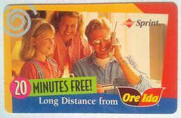 USA Phonecard Ore Ida - Vereinigte Staaten