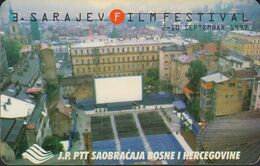 Bosnien Chip Nr.06 - Sarajevo - Filmfestival - Bosnie