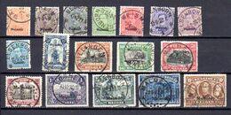 Belgique 1920, Timbre De 1915-19 Surchargés «Malmédy», OC 62/ 78 Ob, Cote 210 € - [OC55/105] Eupen/Malmedy
