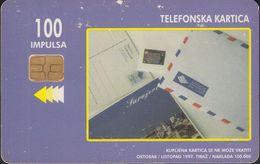Bosnien Chip Nr.07 - Post - Service - Letter - Paket - Bosnie