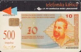 Bosnien Chip Nr.18 - Banknoten - 500 Imp. - Bosnie