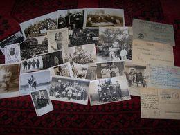 Lot De Photos Et Documents Divers Militaire  1914 / 1918 Et 1940/1945.... - Documentos