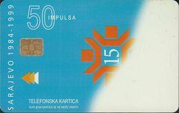 Bosnien Chip Nr.26 - Sarajevo 1984-1999 - Zetra - Bosnie