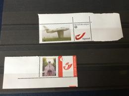 2 Timbres Neufs Personnalisés émis Par Le Cercle Philatélique De Florennes - Private Stamps