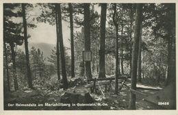 009150  Der Raimundsitz Am Mariahilfberg In Gutenstein  1933 - Gutenstein