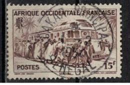 A O F           N°  YVERT  :   40  ( 1 ) OBLITERE       ( Ob   6 / 56 ) - A.O.F. (1934-1959)