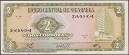 TWN - NICARAGUA 121a - 2 Cordobas 27.4.1972 Serie C UNC - Nicaragua