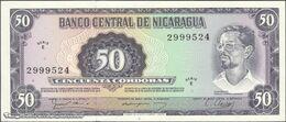 TWN - NICARAGUA 131 - 50 Cordobas 16.8.1979 Serie E UNC - Nicaragua