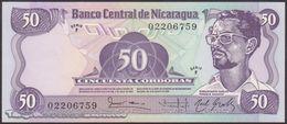 TWN - NICARAGUA 140 - 50 Cordobas 6.8.1984 Serie F UNC - Nicaragua