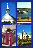 Falkland Islands:St.Mary Church, Whale Bone Arch, Views - Falkland Islands