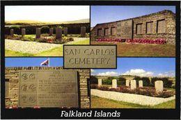Falkland Islands:Memorial To The British Forces - Falkland Islands