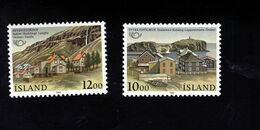 1051162636 SCOTT 624 625 POSTFRIS (XX) MINT NEVER HINGED EINWANDFREI  - NORDIC COOPERATION ISSUE - SISTER TOWNS - Unused Stamps
