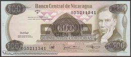 TWN - NICARAGUA 149 - 100.000/500 Cordobas 1987 Provisional Overprint Issue - Serie G UNC - Nicaragua