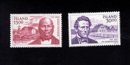 1051162852 SCOTT 613 614 POSTFRIS (XX) MINT NEVER HINGED EINWANDFREI  - FAMOUS MEN - Unused Stamps