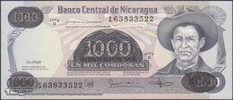 TWN - NICARAGUA 150 - 500.000/1.000 Cordobas 1987 Provisional Overprint Issue - Serie G UNC - Nicaragua