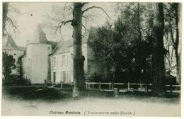 33 - B55358CPA - VILLENEUVE PRES BLAYE - Chateau Mendoce - Parfait état - GIRONDE - France
