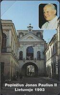 Litauen - Urmet Nr. 01 Papst Jonas Paulius II - 1993 - Mint - Litauen
