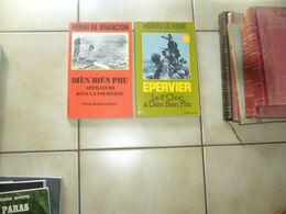(  Indochine ) Le Mire / De Brancion  Dien Bien Phu 2 Livres - Storia