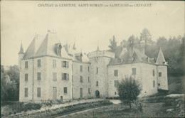 42 SAINT ROMAIN D'URFE / Chateau De Genetine / - Otros Municipios