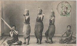 Asie : Viêt - Nam :  LAOS ; Le  Pantomime  Laotienne  Nang Méo - Laos
