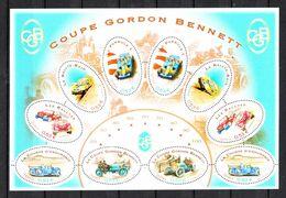 Francia  -  2005. Automobilismo: F 1, Rally, Coppa Gordon Bennett. MNH - Cars